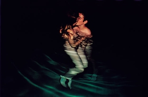 Nan Goldin: Simon and Jessica kissing